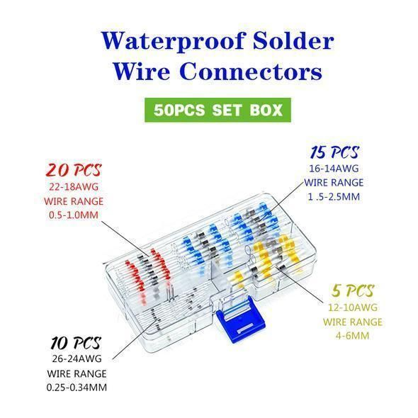 EZ Solder Wire Connectors