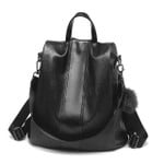 Capacity Oxford Soft Leather Backpack