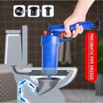 Air Blow Gun: Easy Unclogs Sinks and Toilets With A Trigger