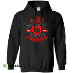 True Love Forever Dragon Pullover Hoodie