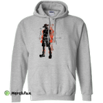 Fire fist Pullover Hoodie