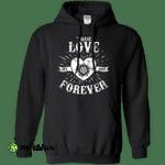 True Love Forever Supernatural Pullover Hoodie