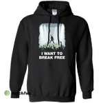 I WANT TO BREAK FREE Pullover Hoodie