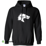 Desolation is Coming white Pullover Hoodie