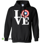 Captain's Love Pullover Hoodie