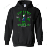 mushroom kingdom fighter 2 Pullover Hoodie