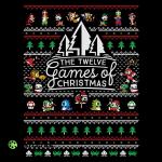 12 Games of Christmas T-Shirt