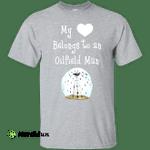 My Heart Belongs to an Oilfield Man Tradesman T-Shirt