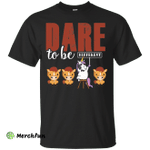 Unicorns T Shirt - Dare To Be Different