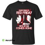 Red Military Shirt - Red Fridays Son Veteran Tee