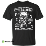 Men's Puggy Shirts Soft Puggy Warm Puggy Little Ball Of fat T-shirt