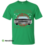 Deck The Halls With Salt Iron Impalalala T-shirt Christmas