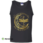 Hello Darkness My Old Friend Moon and Dragonfly Tank Top