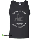 Opportunity Mars Rover Last Words Tribute Tank Top