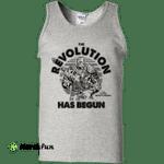 Marvel Thor Ragnarok Korg Revolution Begins Grey Out Tank Top