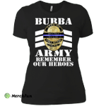 Bubba Army - Remember Our Heroes Ladies' Boyfriend