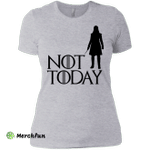 Arya Not Today and Game Of Thrones Ladies' Boyfriend