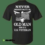 Never Undetimate US veteran