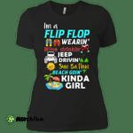 I'm a flip flop wearing Jeep drivin' sun bathin' kinda girl Ladies' Boyfriend