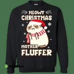 Meowy Christmas Mother Fluffer T Shirt