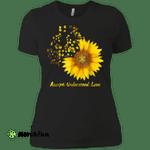Sunflower Accept Understand Love Autism Awareness Ladies' Boyfriend