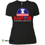 Harper Make Philly Great Again Liberty Bell Funny Ladies' Boyfriend