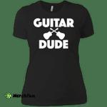 Acoustic Guitar Dude Player Musician Tee Ladies' Boyfriend
