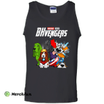 Basset Hound BHvengers Youth Funny Dog Tank Top