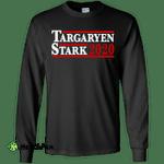 Targaryen and Stark for President 2020 Long Sleeve