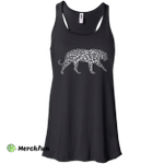 I Love Tiger T-Shirt Word Graphic Tee