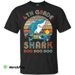 4th Grade Shark Doo Doo Doo Funny Back To School