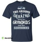This Grandma Is Crazy About Her Grandkids And Her Seattle Seahawks T Shirts