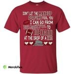 Alabama Crimson Tide Heart T Shirts