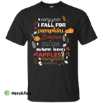 Every year I fall for pumpkins bonfires s'mores shirt, tank, hoodie