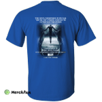 The devil whispered in my ear, a woman was born in May shirt