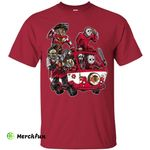 The Massacre Machine Chicago Blackhawks T Shirt