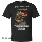 Rose Red: The devil whispered in my ear SisterChicks of WHWC shirt
