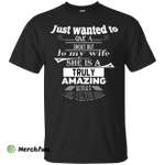 Just Wanted Give Shout Out My Wife shirt, tank, hoodie