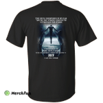 The devil whispered in my ear, a woman was born in July shirt