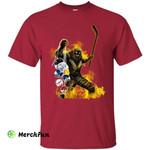 Evil Hit Chicago Blackhawks T Shirt