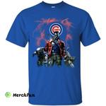 Guns Chicago Cubs T Shirt