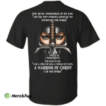 Woman Warrior: The devil whispered in my ear shirt, hoodie, tank