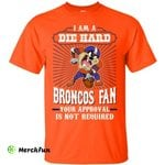 Taz Devil Denver Broncos T Shirt