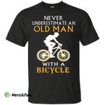 Old man with a Bicycle Men t-shirt/hoodie/tank