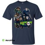 The Massacre Machine Seattle Seahawks T Shirt