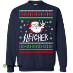 Sleigher: The Heavy Metal Santa Claus Sweater, Shirt, Hoodie