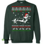 Dachshund Through The Snow Sweater, Shirt, Hoodie