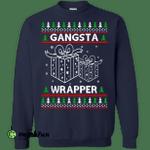 Gangsta Wrapper Ugly Christmas Sweater, Shirt, Hoodie