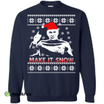 Star Trek Make it Snow Ugly Sweater - Picard Christmas shirt