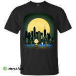 Snoopy and Charlie Brown watching Building 7 11/9 shirt